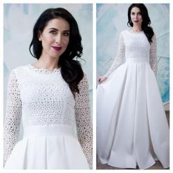 vestuvines sukneles su kisenemis