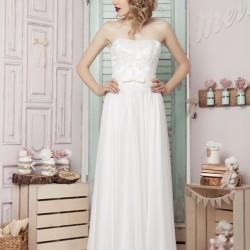Vestuvinė suknelė su gipiūru