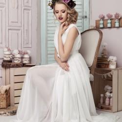 Vestuvinė suknelė su skeltuku