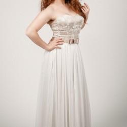 Vestuvinė suknelė pastelinės solvos