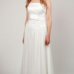 Vestuvinė suknelė didelio dydžio krūtinėms
